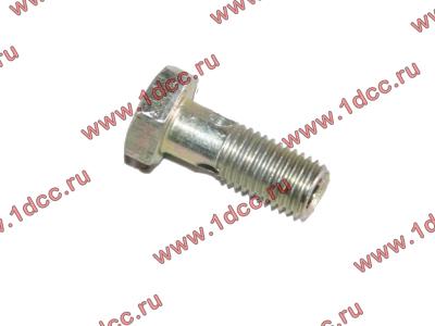 Болт пустотелый M8х1,0 (штуцер топливный) H HOWO (ХОВО) 90003962621 фото 1 Петрозаводск