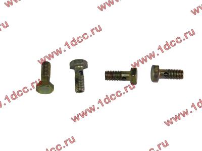 Болт пустотелый M6 обратки с форсунок H2 HOWO (ХОВО) VG1500080090 фото 1 Петрозаводск