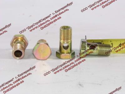 Болт пустотелый М14х1,5 (штуцер топливный) H HOWO (ХОВО) 90003962612 фото 1 Петрозаводск