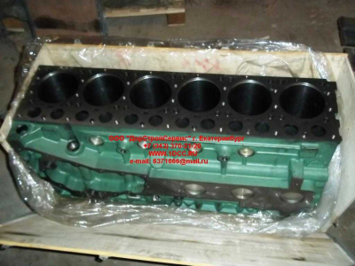 Блок цилиндров двигатель WD615.68 (336 л.с.) H2 HOWO (ХОВО) 61500010383 фото 1 Петрозаводск