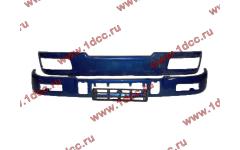 Бампер C синий верхний+нижний (в сборе) фото Петрозаводск