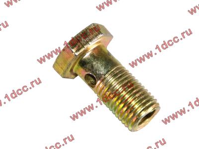 Болт пустотелый М12х1,25 (штуцер топливный) H HOWO (ХОВО) 90003962607 фото 1 Петрозаводск