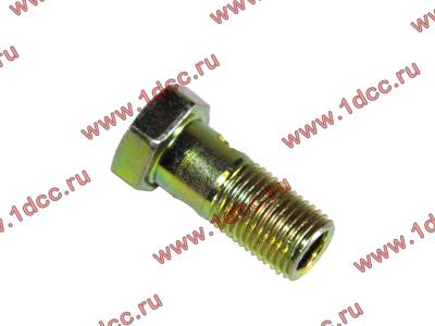 Болт пустотелый М10х1,0 (штуцер топливный) H HOWO (ХОВО) 81500070054 фото 1 Петрозаводск