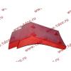 Брызговик передней оси правый H2 красный HOWO (ХОВО) WG1642230004 фото 3 Петрозаводск