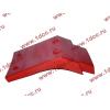 Брызговик передней оси правый H2 красный HOWO (ХОВО) WG1642230004 фото 4 Петрозаводск